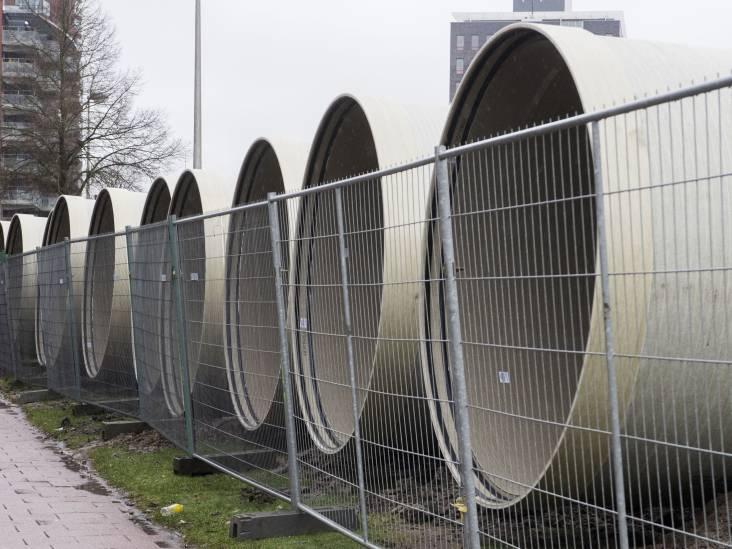Riooljoekels voor waterberging Oldenzaalsestraat in Enschede