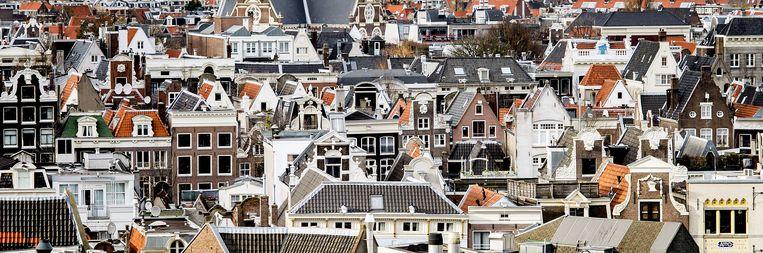 Door de hoge huren in de stad, komen Amsterdammers met middeninkomens in de knel Beeld ANP