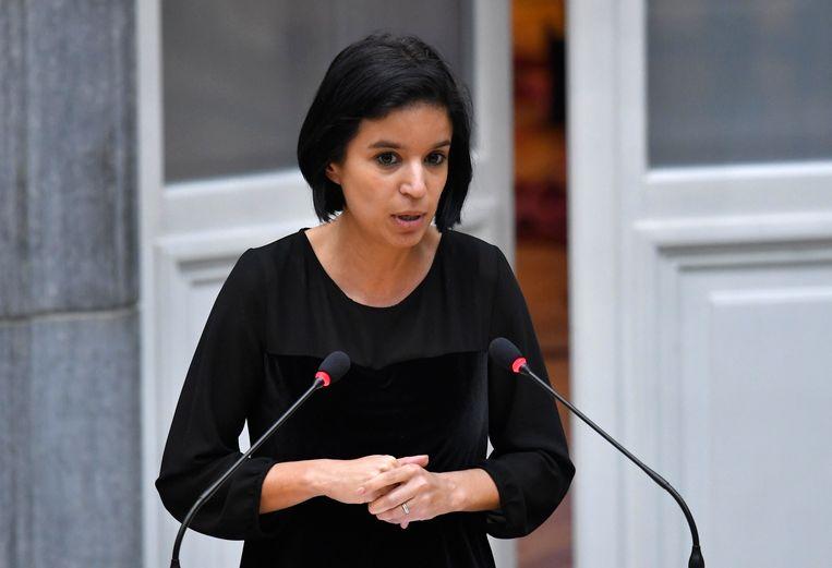 Commissievoorzitter Nadia Sminate (N-VA).