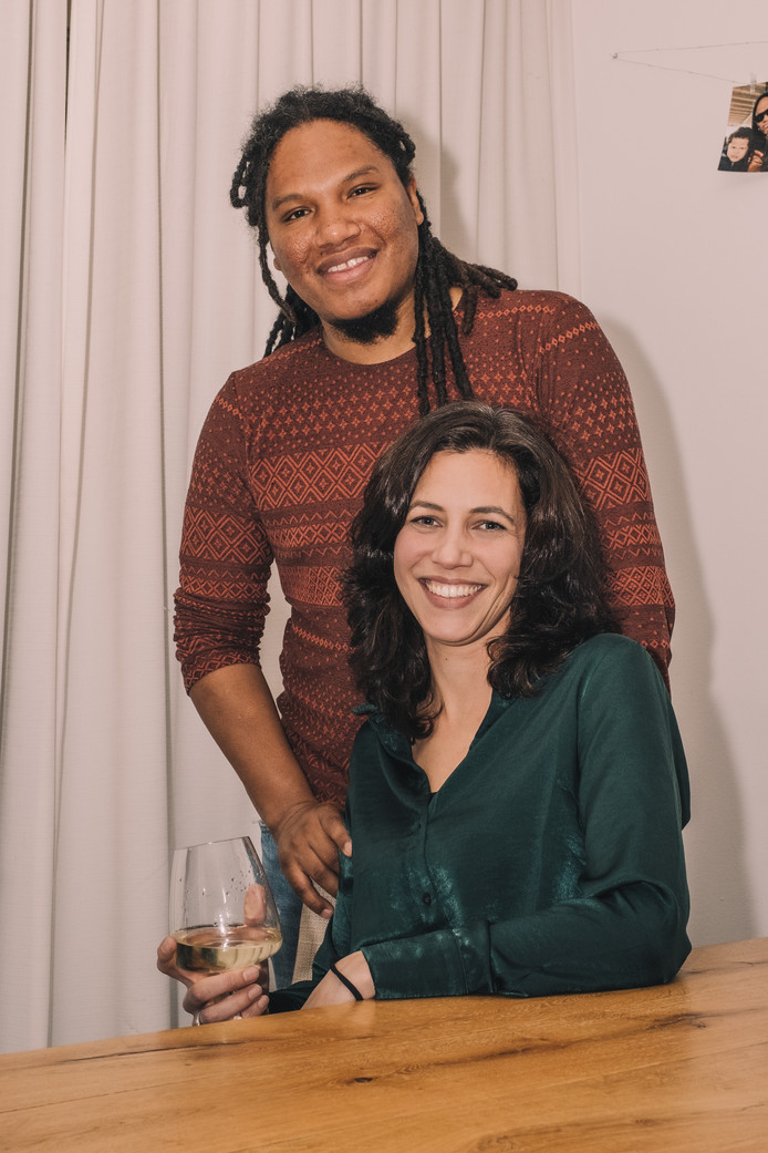 Lennah Koster (32) en Darin Guermonprez (37).