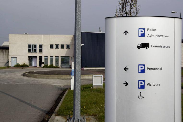 De ingang van de gevangenis van Itter.