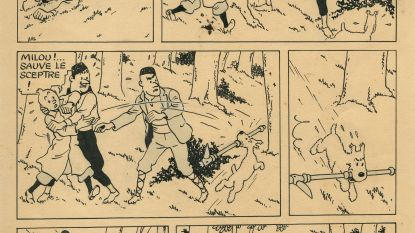 Originele Kuifje-prent van Hergé onder de hamer voor bijna 400.000 euro