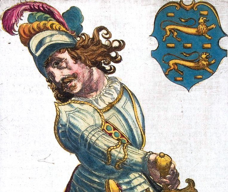 Grutte Pier, een afbeelding uit 1622 Beeld Wikimedia Commons