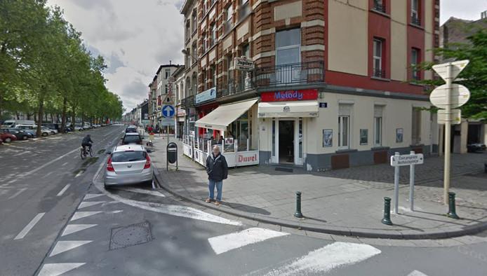 L'accident s'est produit à l'angle du boulevard de l'Abattoir et de la rue de la Rosée à Bruxelles.