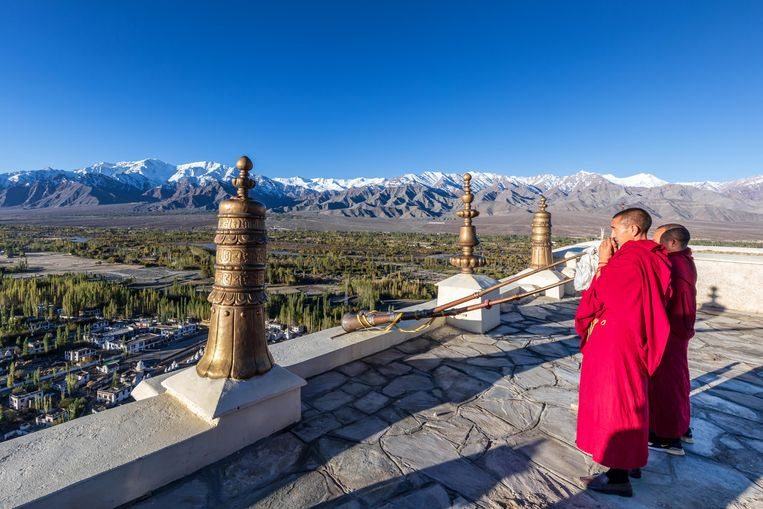 Boeddhistisch klooster in Ladakh, India. Beeld Imageselect