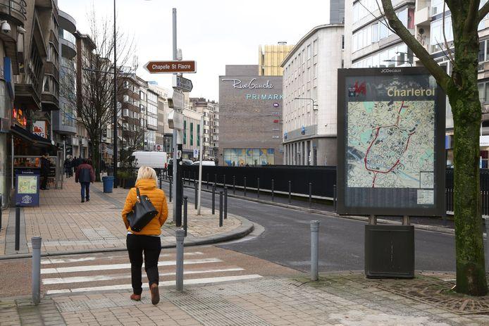 Le Boulevard Tirou à Charleroi
