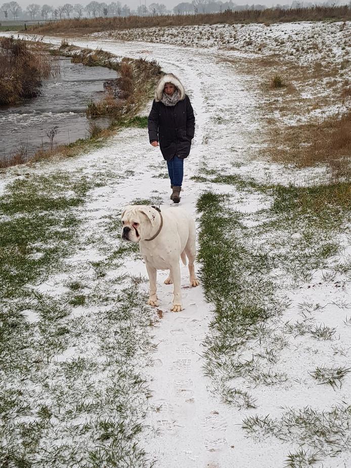 Wandelen bij sluis de pol in Gaanderen