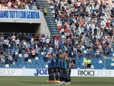 Serie A staat stil bij Genua