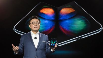 """""""Samsung werkt al aan twee andere opvouwbare smartphones"""""""