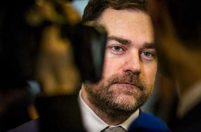 VVD-fractieleider Klaas Dijkhoff (VVD) toonde zich kritisch over de voorlopige resultaten van het klimaatakkoord.