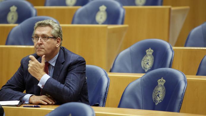 Henk Krol namens 50Plus in de Tweede Kamer in september vorig jaar.