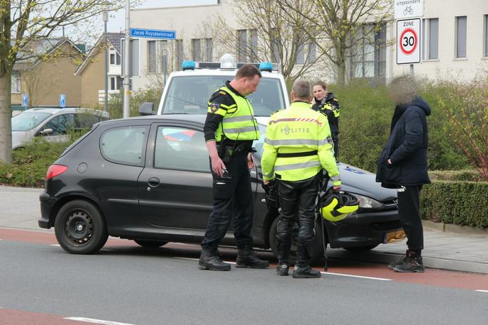 Het ongeval gebeurde aan de Wijnand Zeeuwstraat.
