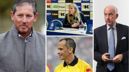 Frank De Bleeckere en deze drie andere gezichten moeten Belgische arbitrage naar hoger niveau tillen