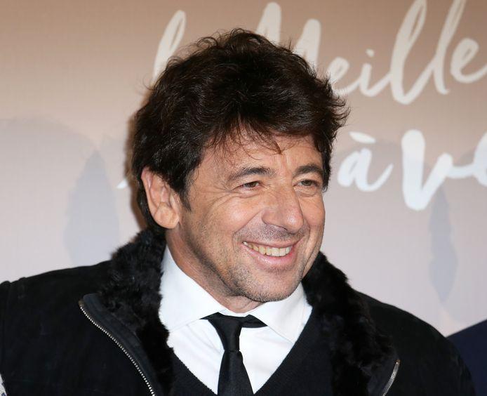"""Patrick Bruel à l'avant-première du film """" Le meilleur reste a venir """", à Paris, le 3 décembre 2019."""