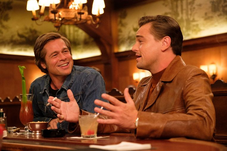 Brad Pitt en Leonardo DiCaprio in Once Upon A Time... In Hollywood