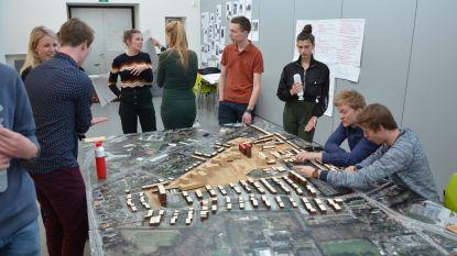 Studenten brainstormen over Nieuw Gent in 2050