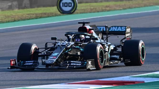 Hamilton wint tumultueuze eerste GP van Mugello, acht rijders moesten opgeven na crashes