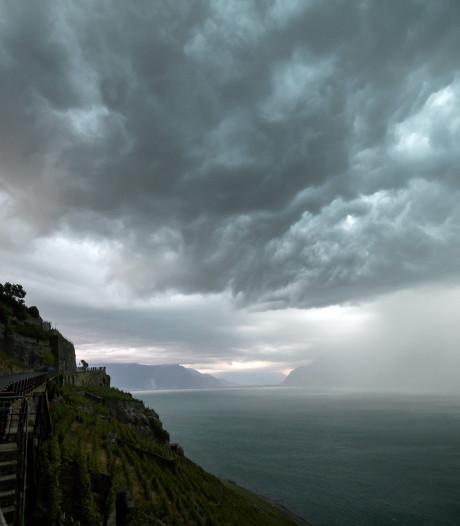 Toeriste omgekomen tijdens noodweer op Meer van Genève