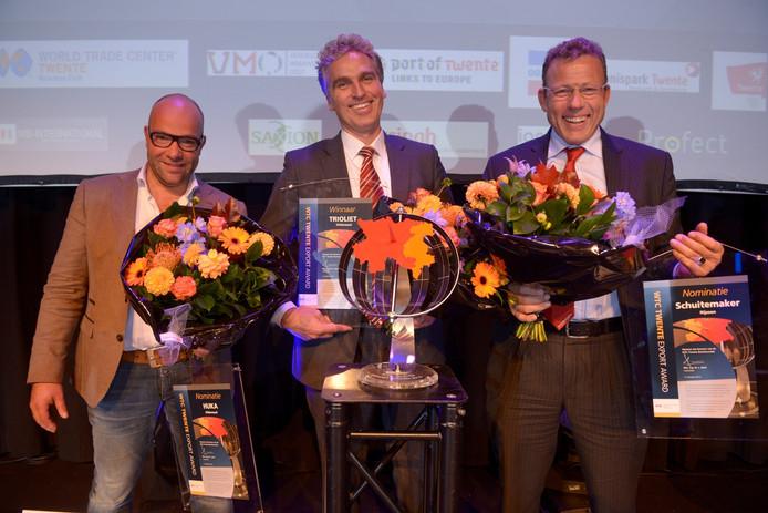 De genomineerden van de WTC Export Award Oost-Nederland 2015
