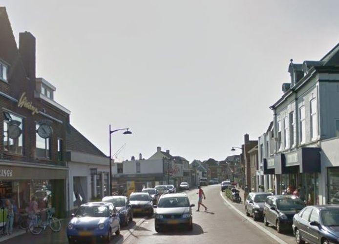 Keizersdijk in  Raamsdonksveer. Foto Google Street view.