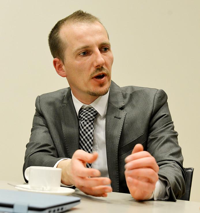 Sebastiaan Stöteler trok stevig van leer tijdens de begrotingsbehandeling.
