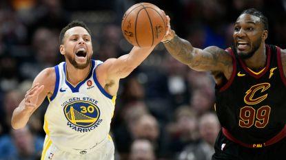 Warriors winnen opnieuw titanengevecht tegen Cavaliers in NBA