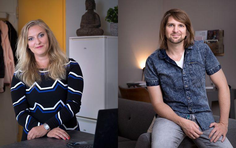 Linda Snel en Jan-Willem Duim. Beeld Werry Crone