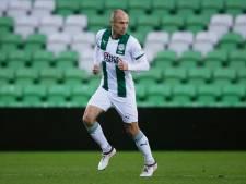 Robben ontbreekt ook tegen VVV bij FC Groningen