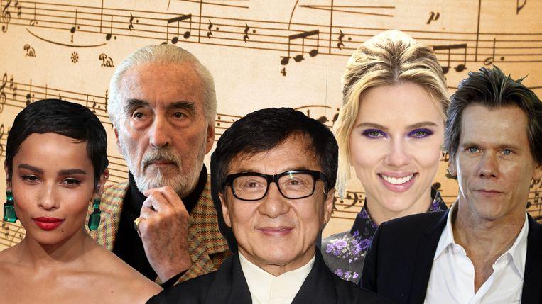 Al deze sterren houden er ook een muzikale carrière op na.