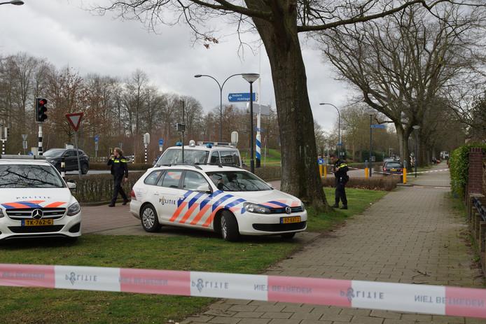 Woning beschoten in Waalwijk.