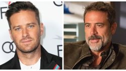 'The Walking Dead'-acteur Jeffrey Dean Morgan ruziet met Armie Hammer