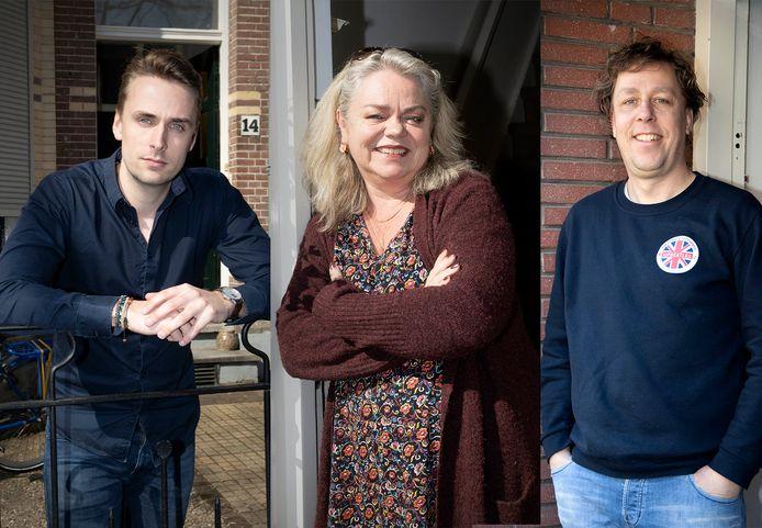 Drie Nijmeegse zzp'ers die proberen het hoofd boven water te houden:  Ludo Jacobs, Eva van Otterlo en Pascal Ninaber.