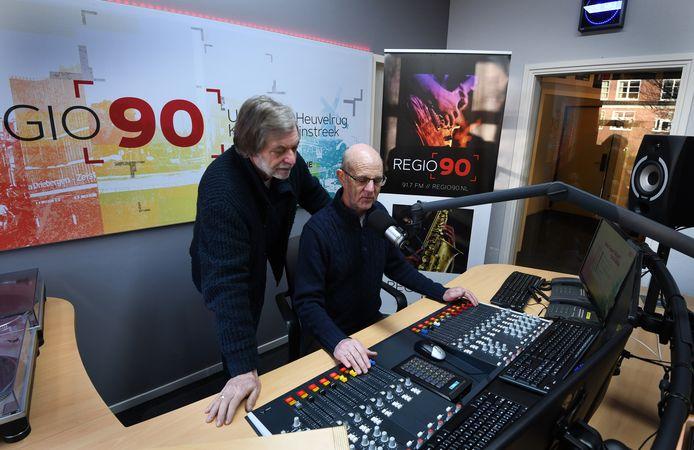 De studio van Regio90 in Leersum.