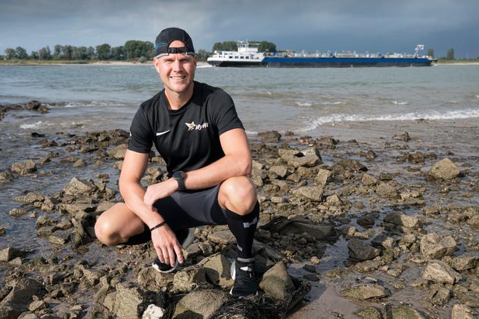 Mark Verhoeks loopt zaterdag de Zeeuwse Kustmarathon zonder tussentijds te eten.