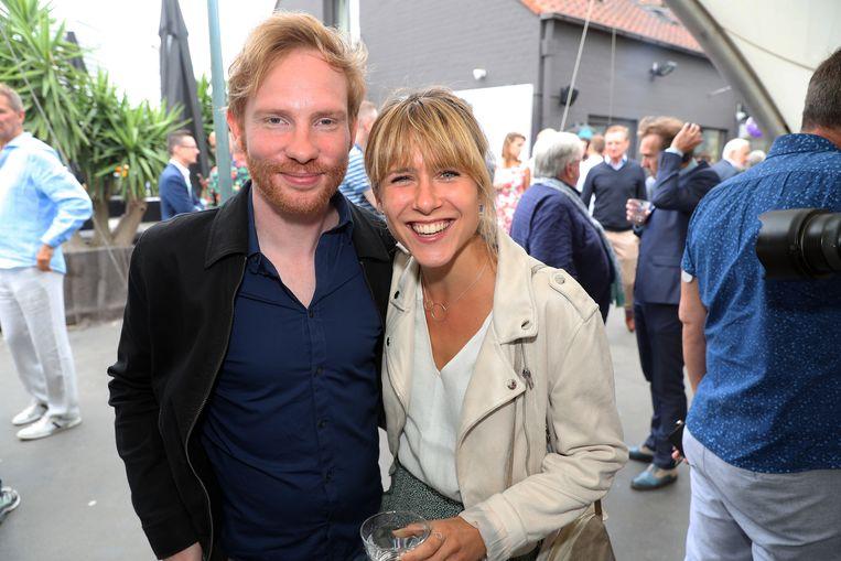Margot Hallemans en collega Kevin