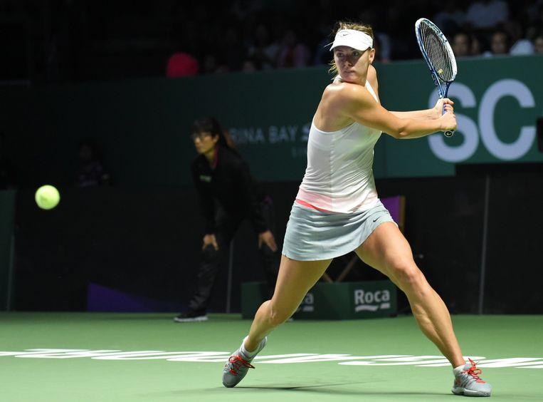 Maria Sharapova Beeld AFP