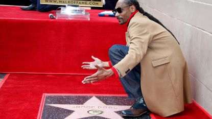 Snoop Dogg krijgt krijgt ster op Hollywood Walk of Fame en bedankt... zichzelf