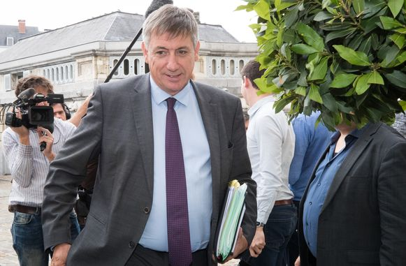 Vlaams formateur Jan Jambon (N-VA).