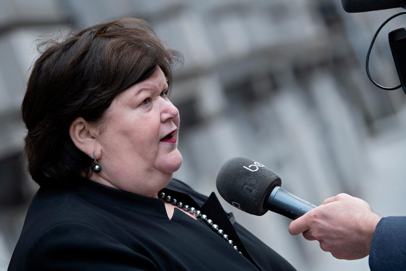 Maggie De Block, ministre de la Santé publique.