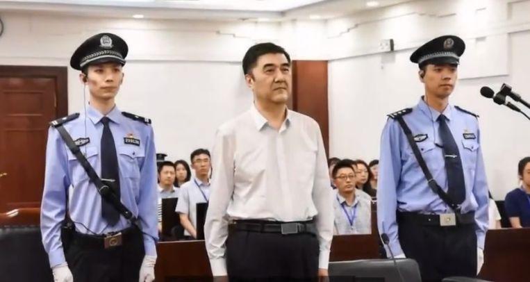 De etnische Oeigoer Nur Bekri bij de start van zijn proces in 2018.