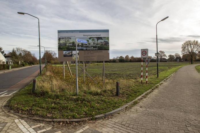 Op de hoek Hoogstraat-Schadewijkstraat komt een Ruimte voor Ruimte-bouwlocatie.