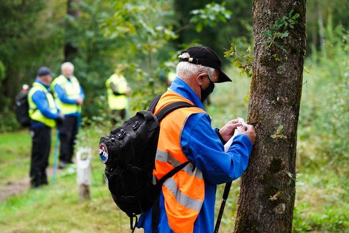 Het Veteranen Search Team hielp de politie met zoeken.