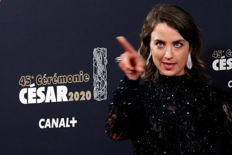 Actrice Adèle Haenel verliet de zaal toen Polanski uitgeroepen werd tot winnaar in de categorie 'beste regisseur'.