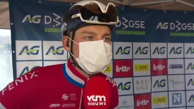 """Van der Poel voor start Driedaagse: """"Stevig gevierd na Ronde, zin om te koersen zal straks wel komen"""""""