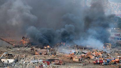 Zeker 73 doden en 3.700 gewonden bij gigantische ontploffing in Beiroet, ook Belgische ambassade beschadigd