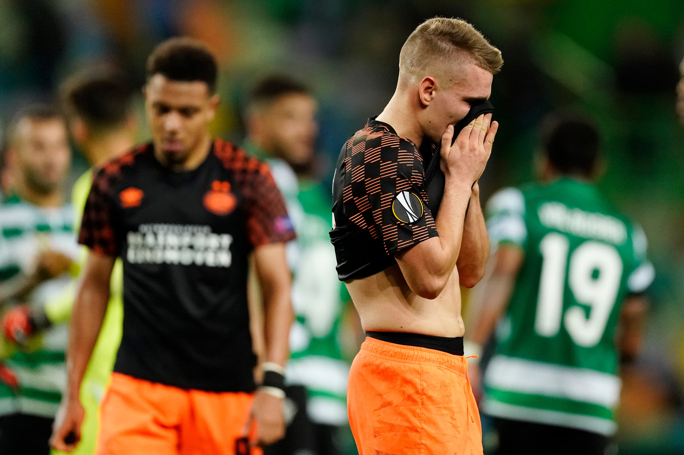 Michal Sadilek baalt van de Europese uitschakeling van PSV.