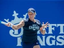 Kim Clijsters une nouvelle fois laissée au repos mardi