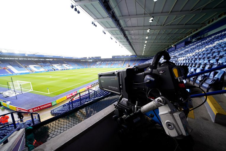 Het King Power-stadion in Leicester. Beeld EPA