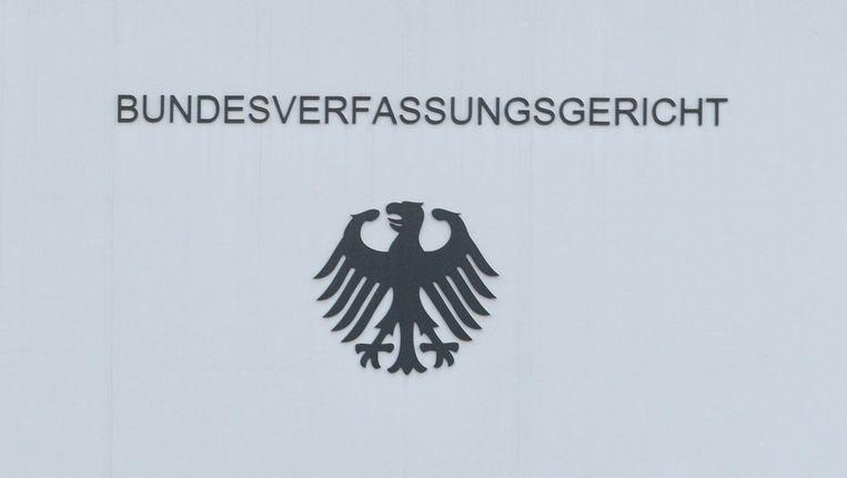 Het Federale Constitutionele Hof in Karlsruhe. Beeld epa