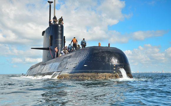 """Archiefbeeld van duikboot """"San Juan"""""""